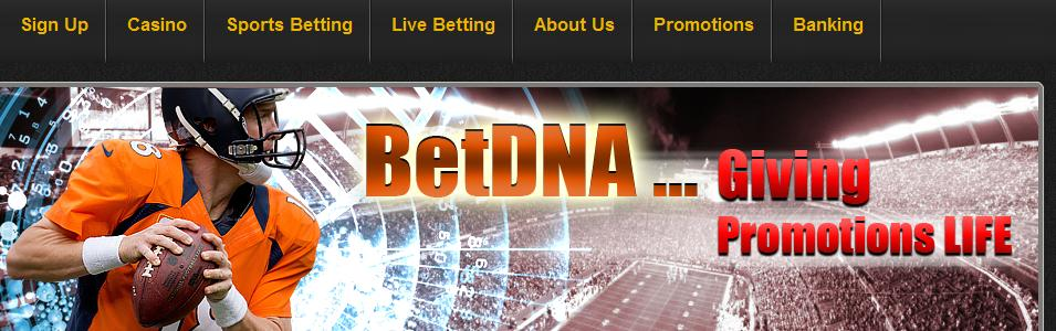 BetDNA Casino - Accepting US Players!